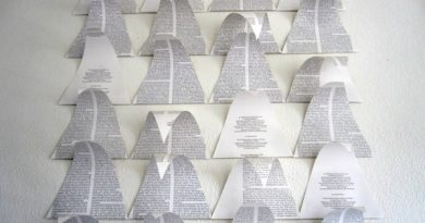 Künstlerische Darstellung von Zeitungsbäumen