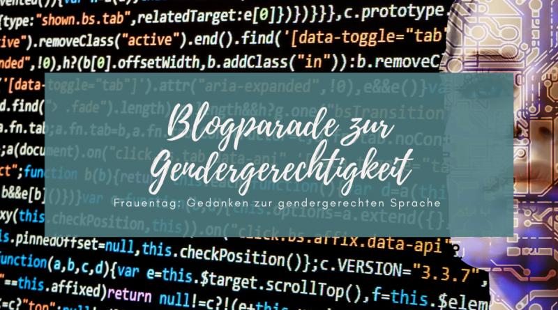 Beitragsbild Blogparade Gendergerechtigkeit