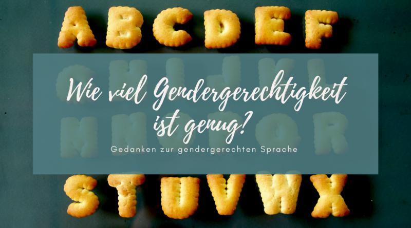 Blogbeitragsbild Gendern