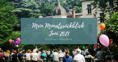 Beitragsbild Monatsrückblick Juni 2021
