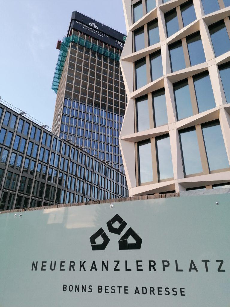 Baustelle am Bundeskanzlerplatz in Bonn